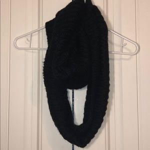 Accessories - Simple all black Infinity Scarf